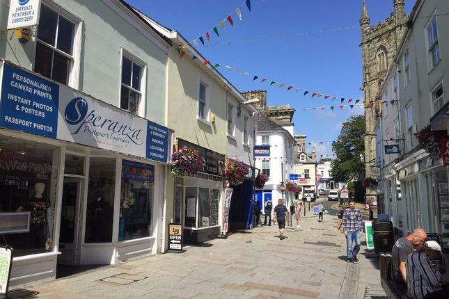 Thumbnail Retail premises to let in 10, Fore Street, St Austell, Cornwall