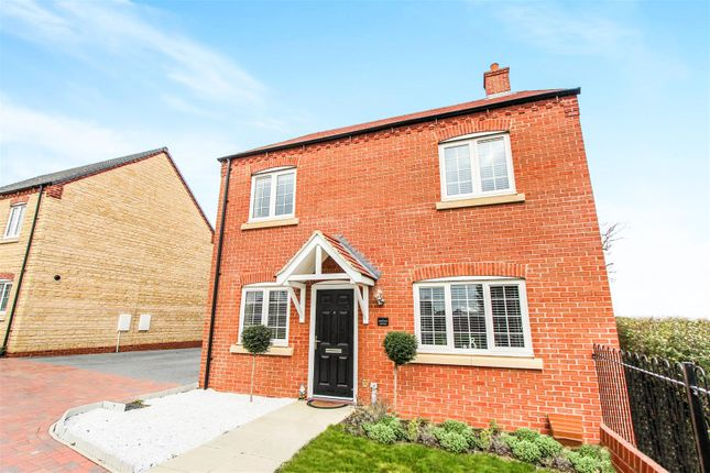 Thumbnail Detached house for sale in Kelmarsh Avenue, Raunds, Wellingborough
