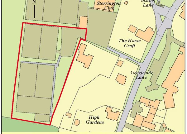 Thumbnail Land for sale in Land Storrington Tennis Club, Greyfriars Lane, Storrington, Pulborough, West Sussex