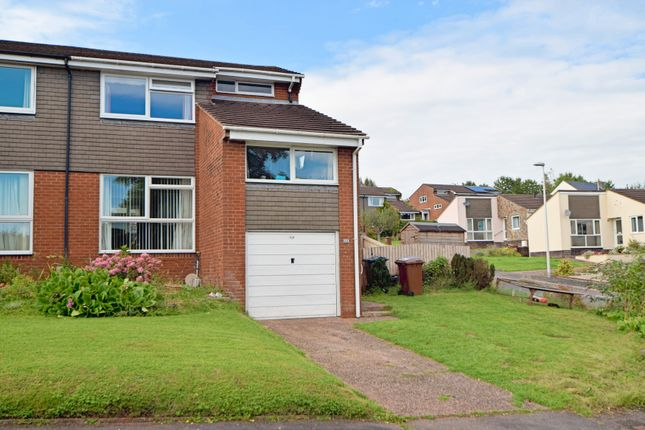 Thumbnail Semi-detached house for sale in The Brendons, Sampford Peverell