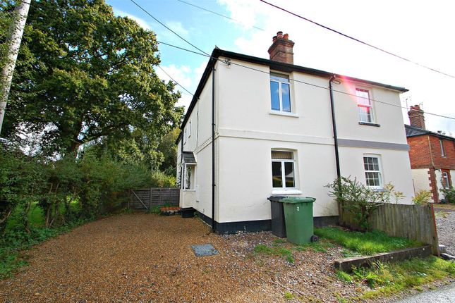 Thumbnail Semi-detached house to rent in Railway View, Duckmead Lane, Liss.