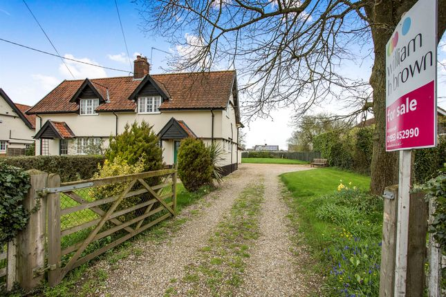 Thumbnail Semi-detached house for sale in Lopham Road, East Harling, Norwich
