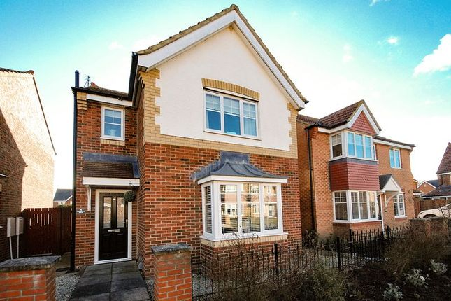 Thumbnail Detached house for sale in Embleton Walk, Ashington