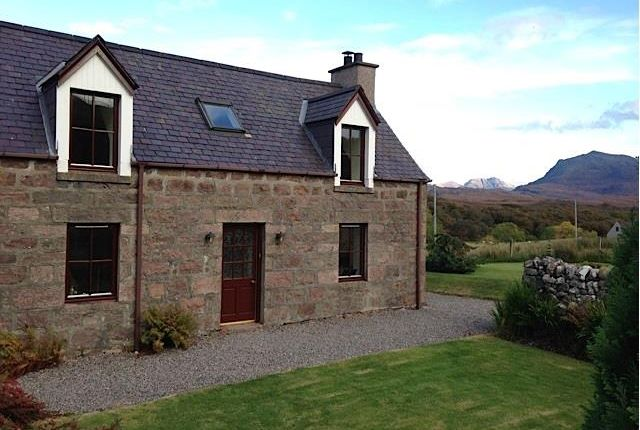 Thumbnail Detached house for sale in Croft, Poolewe, Achnasheen