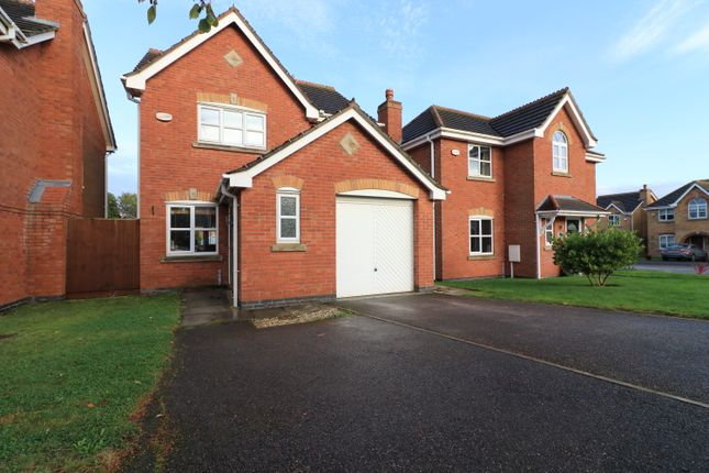 Thumbnail 3 bed detached house for sale in Ash Holt Close, Fiskerton, Lincoln