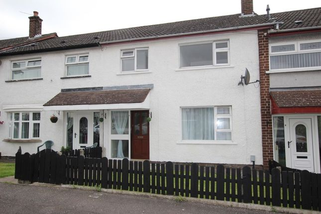 Thumbnail Terraced house to rent in Bawnmore Grove, Newtownabbey