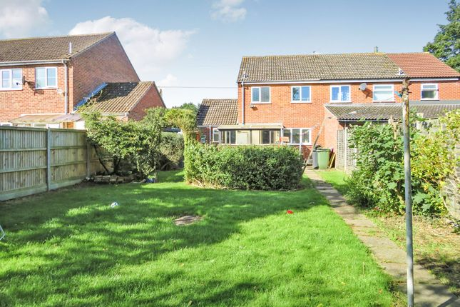 Thumbnail Semi-detached house for sale in Maltings Way, East Harling, Norwich