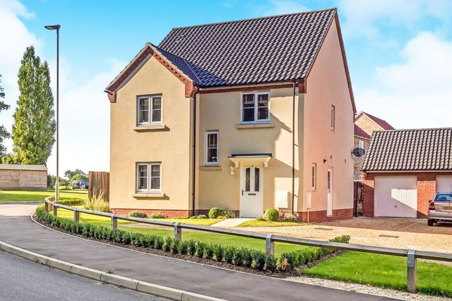 Thumbnail Detached house for sale in Woodgate Way, Aylsham, Norwich