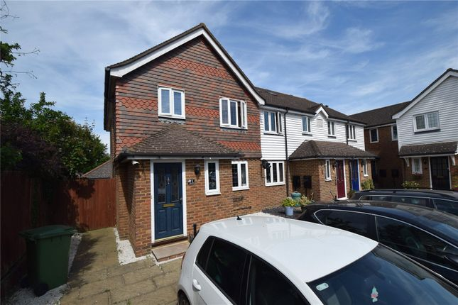 End terrace house for sale in The Staples, Swanley Village, Kent