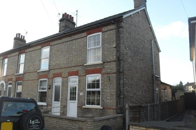 Thumbnail End terrace house to rent in Potters Lane, Ely