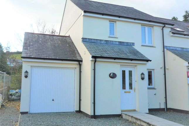 Thumbnail Semi-detached house to rent in Priory Mews, Launceston