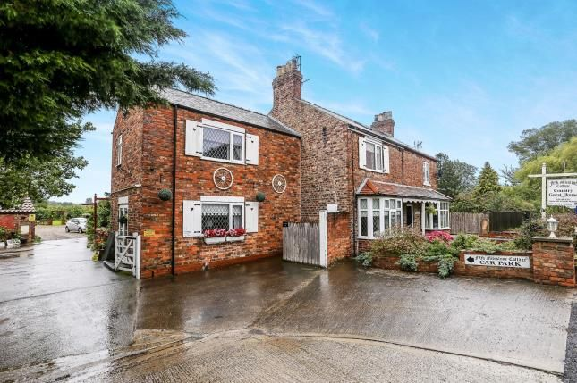 Thumbnail Semi-detached house for sale in Fifth Milestone Cottage, Dunnington, York, North Yorkshire