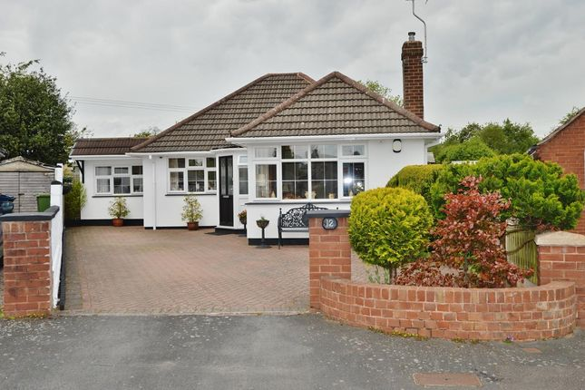 Thumbnail Bungalow for sale in Sherbrook Close, Brocton, Stafford