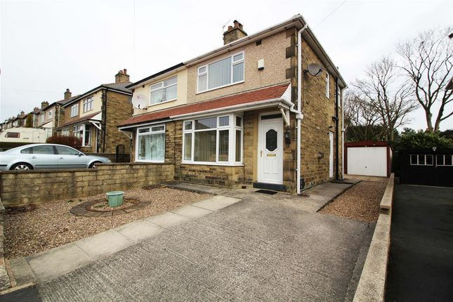 Thumbnail Semi-detached house for sale in Gleanings Avenue, Norton Tower, Halifax
