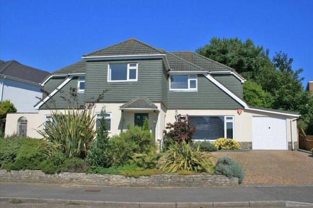 Thumbnail Detached house for sale in Hurst Hill, Canford Cliffs, Poole