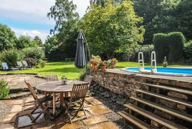 Thumbnail Detached house for sale in Coombes Moor, Presteigne