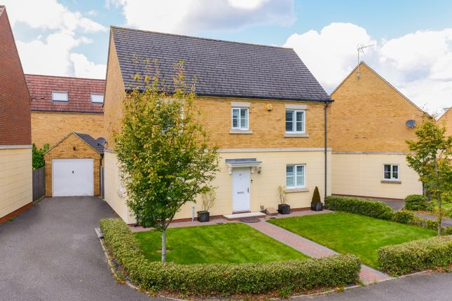 Thumbnail Detached House To Rent In Brigadier Gardens Repton Park Ashford