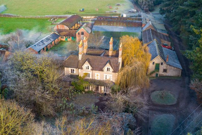 Thumbnail Detached house for sale in Wannerton, Kidderminster, Worcestershire