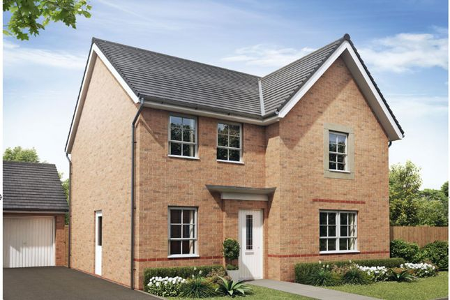 "Thumbnail Detached house for sale in ""Radleigh"" at Heol Pentre Bach, Gorseinon, Swansea"