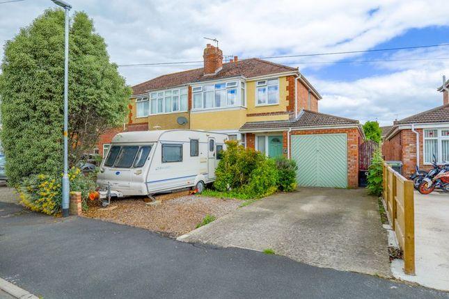 Thumbnail Semi-detached house for sale in Woodstock Gardens, Melksham