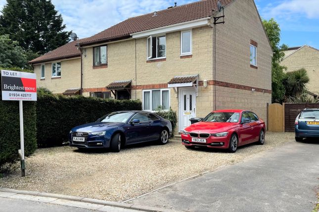 Thumbnail Semi-detached house to rent in Tremlett Mews, Weston-Super-Mare