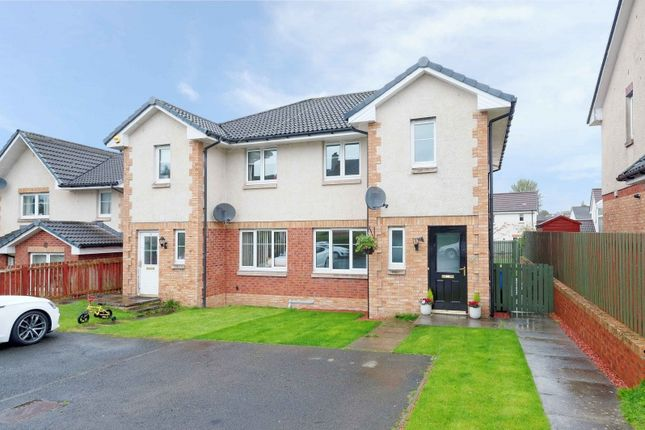 Thumbnail Semi-detached house for sale in Hardridge Road, Corkerhill, Glasgow