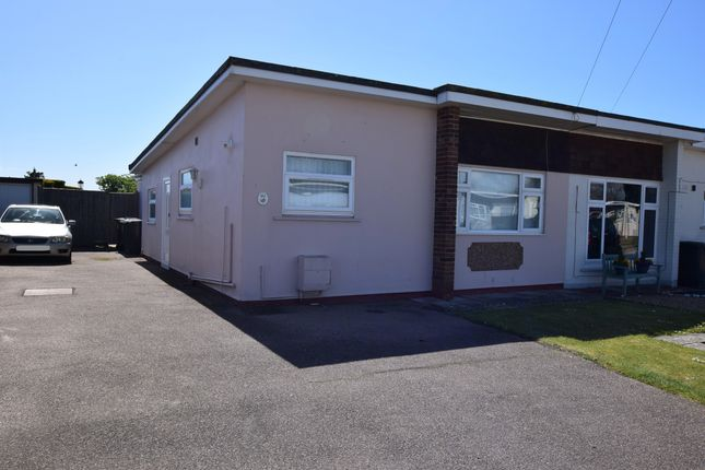 Thumbnail Semi-detached bungalow for sale in Arundel Close, Pevensey Bay