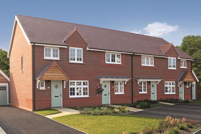 Thumbnail Terraced house for sale in Stanbury Meadows, Camomile Way, Newton Abbot, Devon