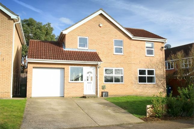 Thumbnail Detached house for sale in Royal Court, Eaton Socon, St. Neots