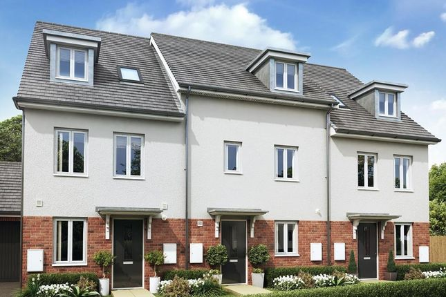 """Thumbnail 4 bed terraced house for sale in """"Woodcote"""" at Godwell Lane, Ivybridge"""