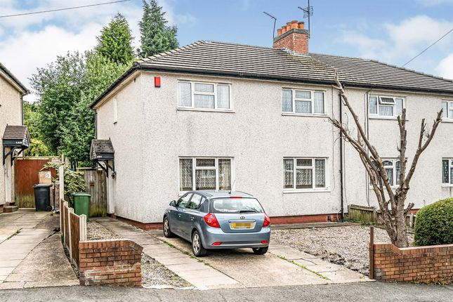 Semi-detached house for sale in Wrens Hill Road, Dudley