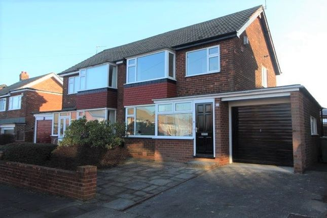 Thumbnail Semi-detached house for sale in Woolerton Drive, Windy Nook, Gateshead