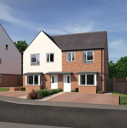 Thumbnail Semi-detached house for sale in Ockerhill Rad, Tipton