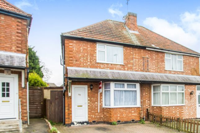 3 bed semi-detached house for sale in Fairfield Road, Oadby, Leicester