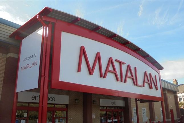 Thumbnail Commercial property for sale in Matalan Investment, Unit 1/2, Accrington