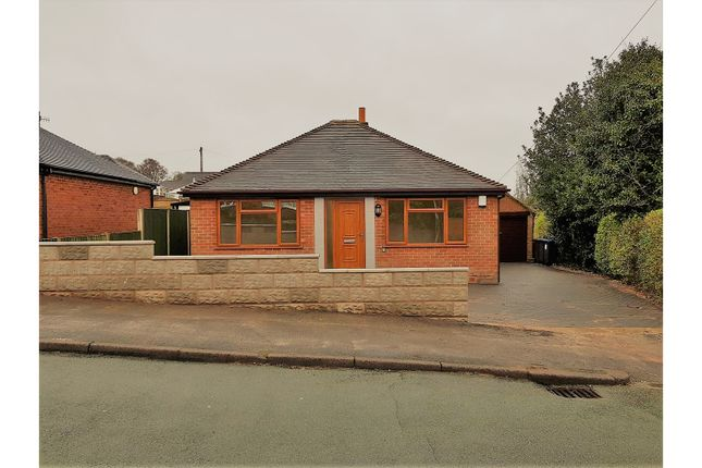 Thumbnail Detached bungalow for sale in Meadow Road, Stoke-On-Trent