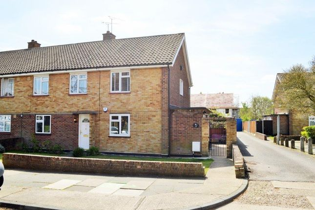 Thumbnail Duplex for sale in Roseberry Gardens, Upminster