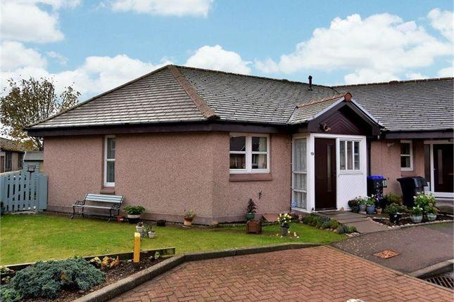 Thumbnail Terraced bungalow for sale in Garvock Court, Laurencekirk, Aberdeenshire