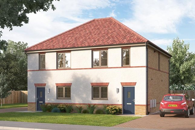 """3 bedroom end terrace house for sale in """"The Cambridge"""" at Ward Road, Clipstone Village, Mansfield"""