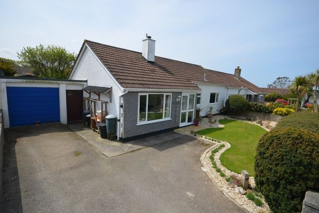 Thumbnail Semi-detached bungalow for sale in Marshallen Road, Mount Hawke, Truro