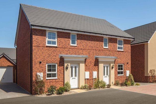 "Thumbnail End terrace house for sale in ""Folkestone"" at Briggington, Leighton Buzzard"