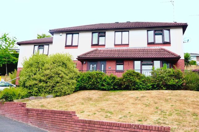 Thumbnail Detached house for sale in Brooklea, Caerleon, Newport