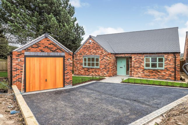 Thumbnail Detached bungalow for sale in Swarkestone Road, Weston-On-Trent, Derby