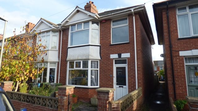 Thumbnail Terraced house to rent in Retreat Road, Topsham, Exeter
