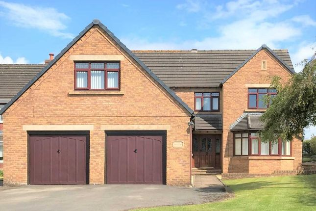 Thumbnail Detached house for sale in Netherfield Close, Summer Grove, Hensingham, Whitehaven
