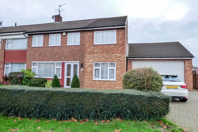 Thumbnail Semi-detached house for sale in Vauxhall Close, Northfleet, Gravesend