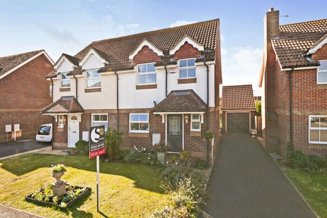 2 bed semi-detached house for sale in Redberry Road, Park Farm, Ashford