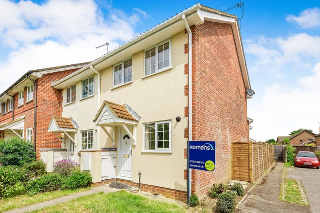 Thumbnail End terrace house to rent in Ravenscroft, Hook