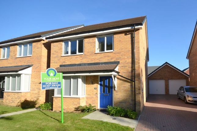 Thumbnail Detached house for sale in Blake Close, Towcester
