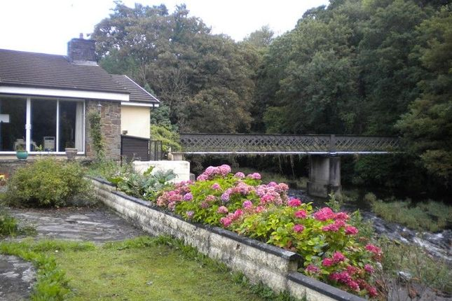 Outside of Hunters Lodge Pontynyswen, Nantgaredig, Carmarthen, Carmarthenshire. SA32